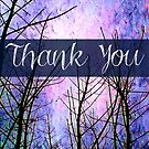 Thank You Tree Branches by EvePenman