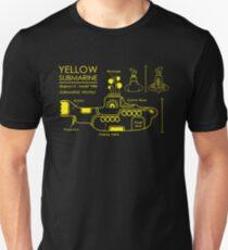 Yellow Submarine Blueprint T-Shirt