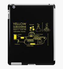 Yellow Submarine Blueprint iPad Case/Skin