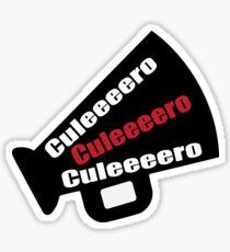 """Concert Spanish Slang """"Culeeeero"""" Sticker"""