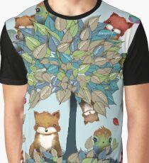 The Friendship Tree Graphic T-Shirt