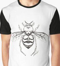 Bee Illustration Graphic T-Shirt
