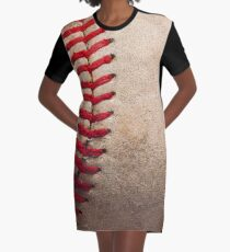 Baseball Graphic T-Shirt Dress