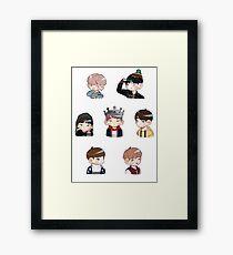 BTS Spring Day Set Framed Print
