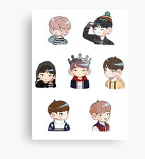 BTS Spring Day Set Metal Print
