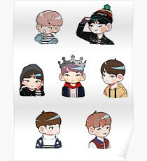 BTS Spring Day Set Poster