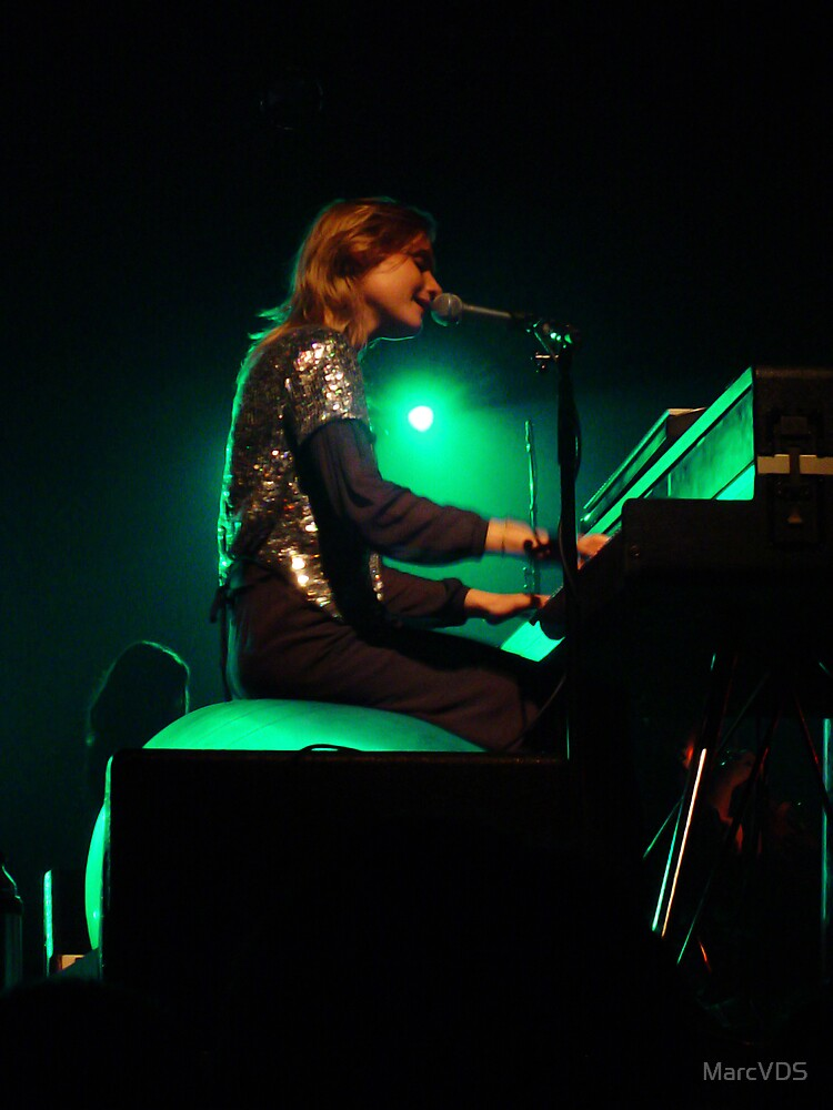 An Pierlé Live at the Cirque Royal in Brussels by MarcVDS