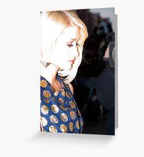 Paris Hilton Greeting Card