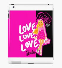BARBIE - LOVE LOVE LOVE BARBIE iPad Case/Skin