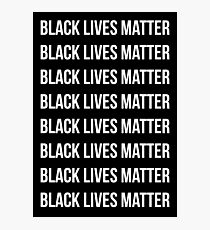 Black Lives Matter Photographic Print