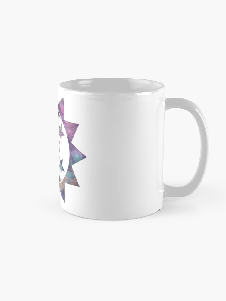 Quot Sun Moon And Stars Marbled Paint Quot Mug By Amwats Redbubble