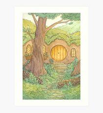 Underhill at Dawn Art Print