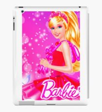 BARBIE - ANIMATED - LOGO #3 iPad Case/Skin