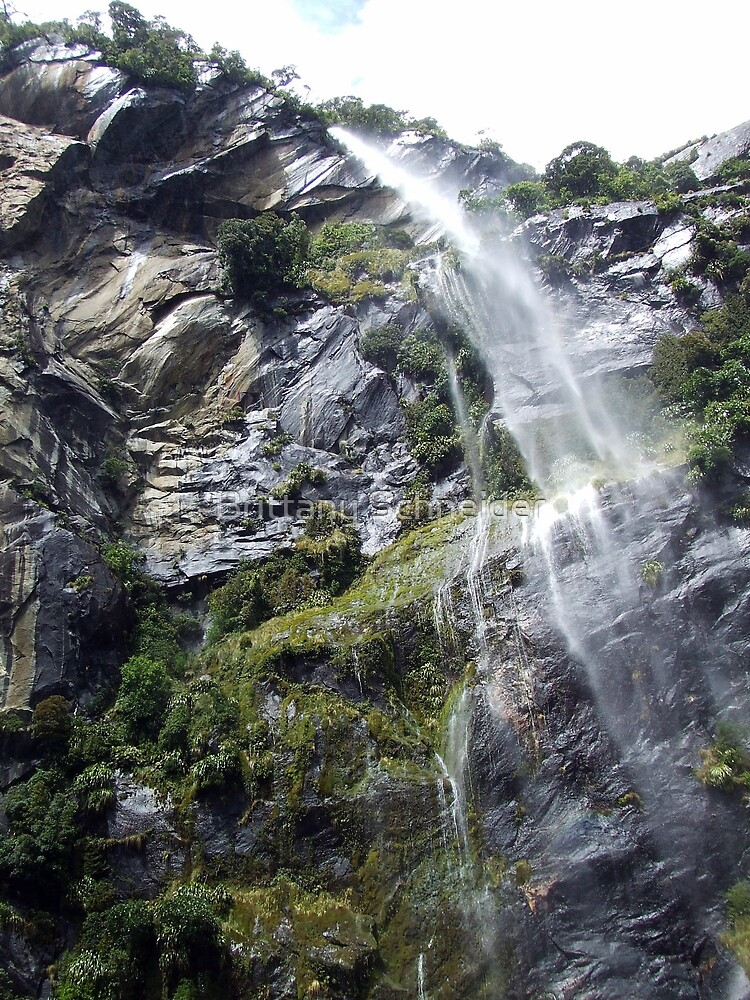 Waterfall by Brittany Schneider