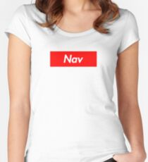 NAV (Supreme) Women's Fitted Scoop T-Shirt