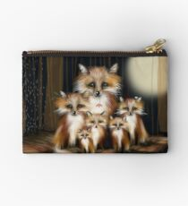 Fox Family Studio Pouch