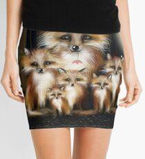 Fox Family Mini Skirt
