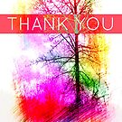 Thank You Rainbow Tree by EvePenman