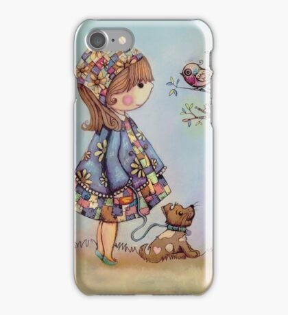 The Patchwork Tree iPhone Case/Skin