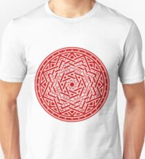 Roseknot, Filled Crimson Unisex T-Shirt