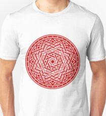 Roseknot, Filled Crimson Slim Fit T-Shirt