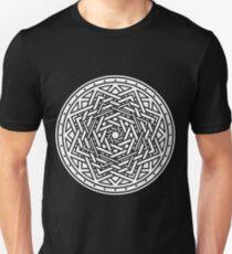 Roseknot, Filled White Slim Fit T-Shirt
