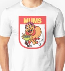 AFL BBQ Series - Gold Coast Mums Unisex T-Shirt