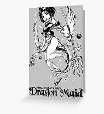 DRAGON MAID Greeting Card