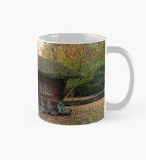 Little Log Cabin Behind Ringwood Manor Classic Mug