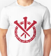 Crown and Nails, Crimson Slim Fit T-Shirt