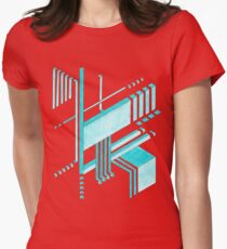 Isometric Womens Fitted T-Shirt
