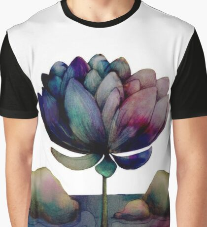 rainbow lotus flower Graphic T-Shirt