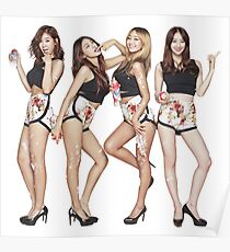 sistar korean girl band touch my body Poster
