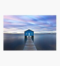 Sunrise at Matilda Bay Boatshed in Perth, Western Australia Photographic Print