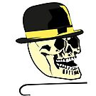 chaplin skull by 2piu2design