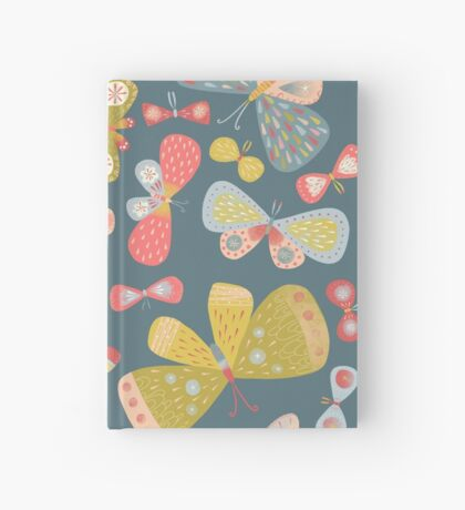 Butterfly Tango Hardcover Journal