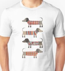 Sausage Dogs in Sweaters T-Shirt