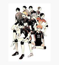 Team Karasuno Photographic Print