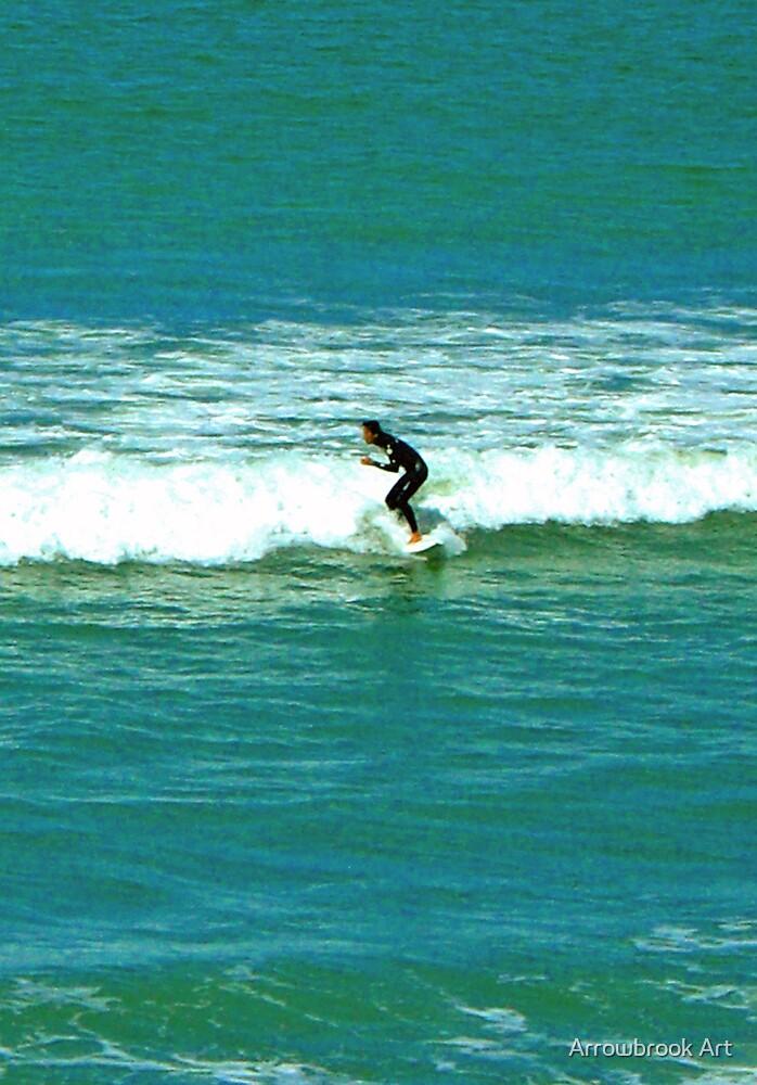 Surfing NZ by John Brotheridge