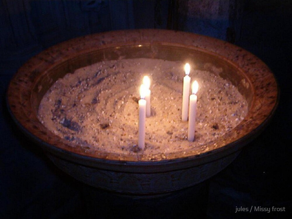 Prayer candles by jules / Missy frost