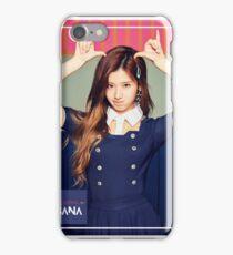 TWICE Sana - Signal Typography iPhone Case/Skin
