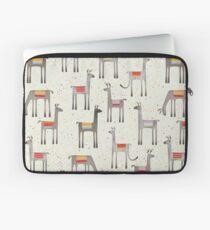 Llamas in the Meadow Laptop Sleeve