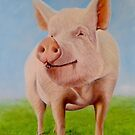 Ester the pig by Carole Russell
