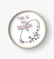 Reloj este es mi diseño