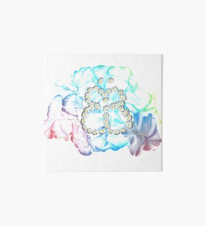 Rainbow Flower #RBSTAYCAY Galeriedruck