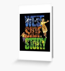 West side story Greeting Card