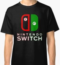 Mario & Luigi Switch Logo Classic T-Shirt