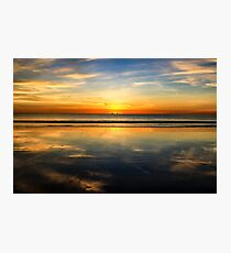 Cable Beach sunset reflection Photographic Print