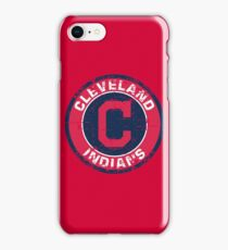 Cleveland Indians Baseball Club Distressed iPhone Case/Skin