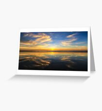 Cable Beach reflections Greeting Card